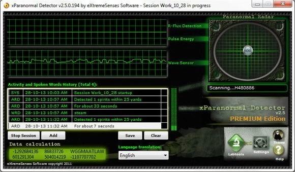 XParanormal Detector - 580x339