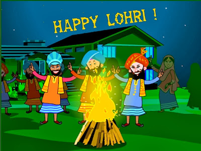 Happy Lohri 2014 Greetings Wishes Scraps Collection