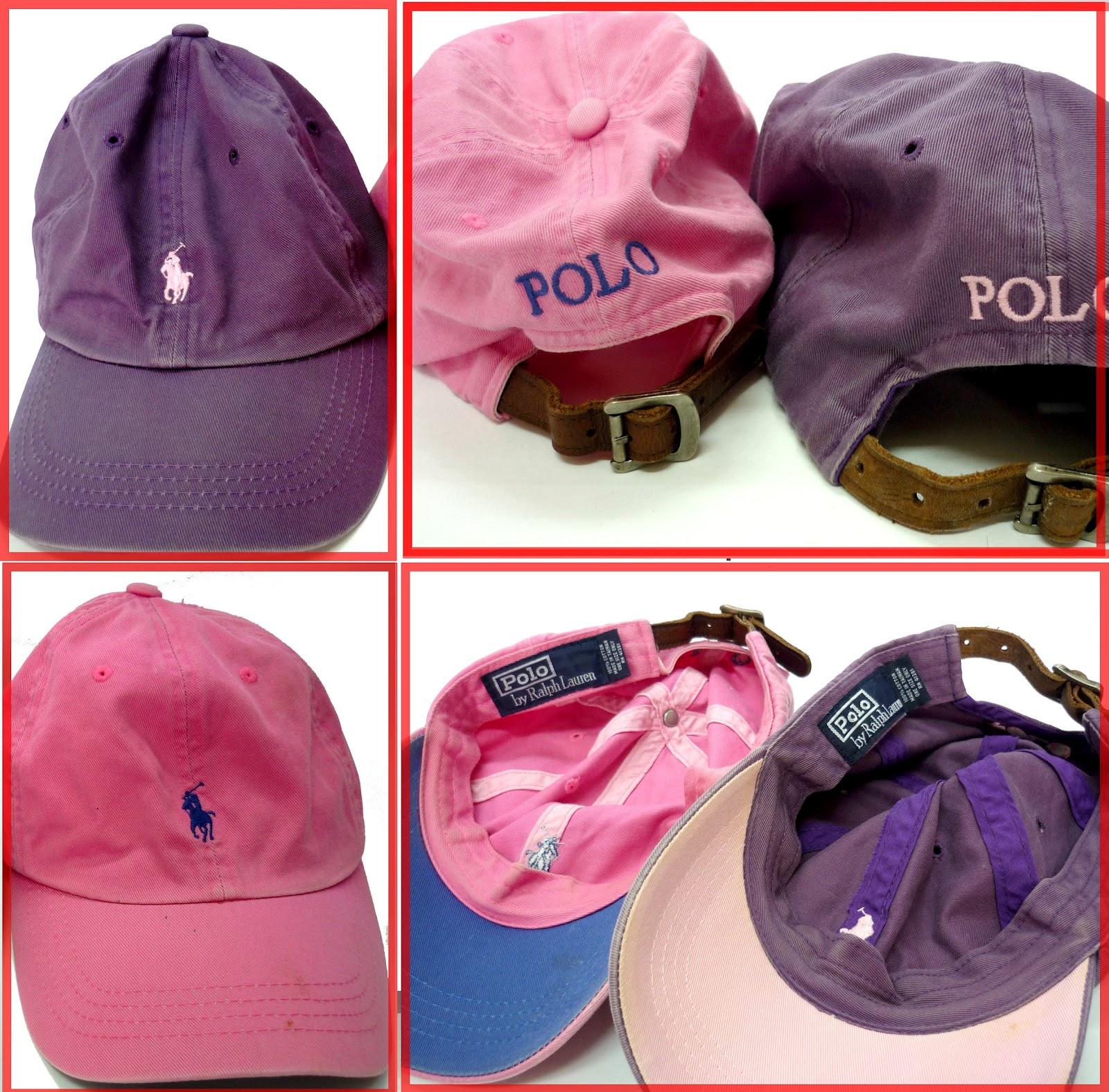 abfc4899dd5 RCHYbundle  POLO ralph lauren purple and pink cap