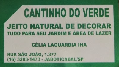 cantinho do verde