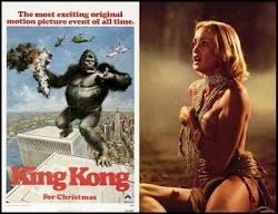 ... de mis pelis favoritas: King Kong - 1976, con Jessica Lange