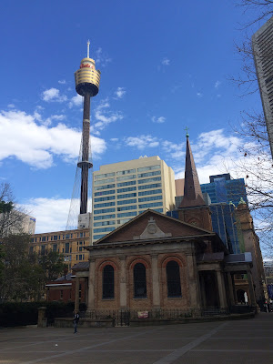 Centrepoint Tower, Sydney, Church