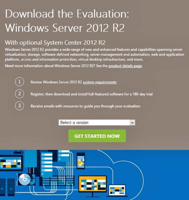 Download Windows Server 2012 R2 for Free 180 Days