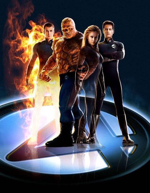 Marvel Comics Movies-Fantastic Four