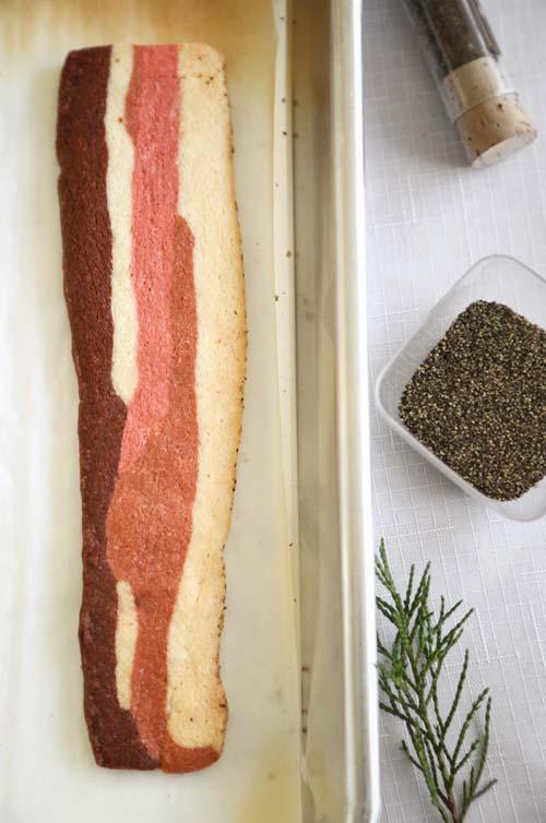 Applewood Bacon Shortbread Cookies | Sprinkle Bakes