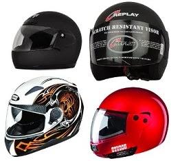 Helmets: STUDDS, STEELBIRD & VEGA – Min 10%Off @ Amazon