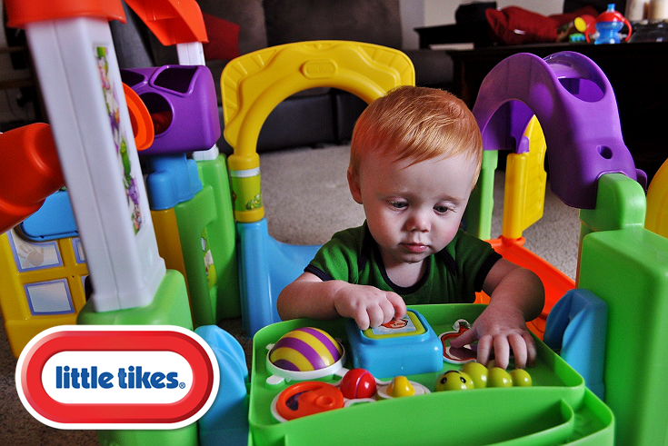 Momma Told Me Stimulate And Grow With The Little Tikes Activity Garden