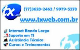 TX WEB, A MELHOR INTERNET!