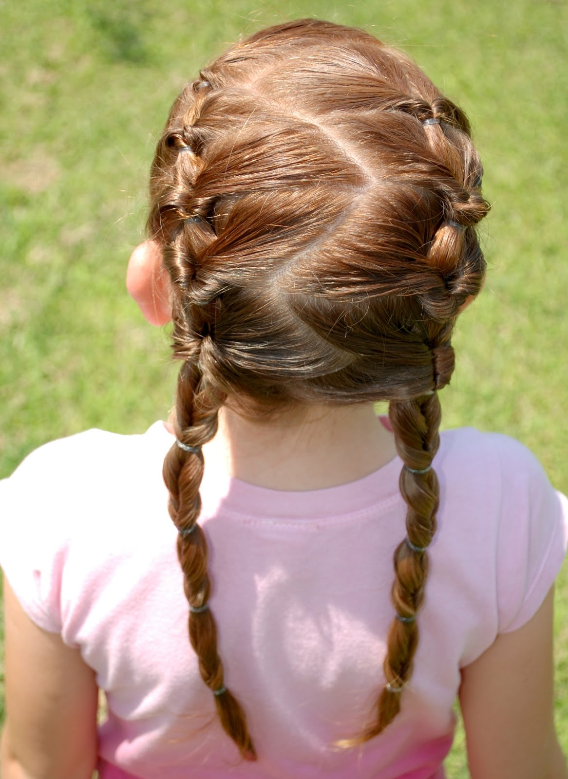 Zig Zag Pull Through Pigtails