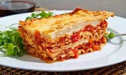 cara membuat masakan khas italia lasagna panggang