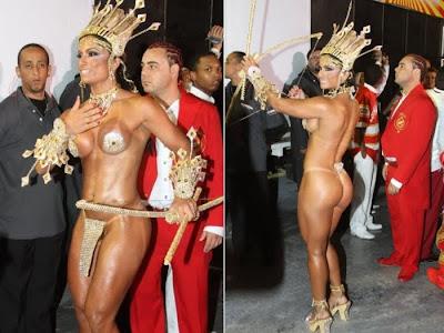 Fotos musas do Carnaval 2011 - São Paulo - 1° noite - Dani Sperle