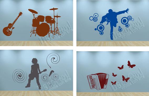 Vinilos con arte las paredes suenan - Vinilos con arte ...