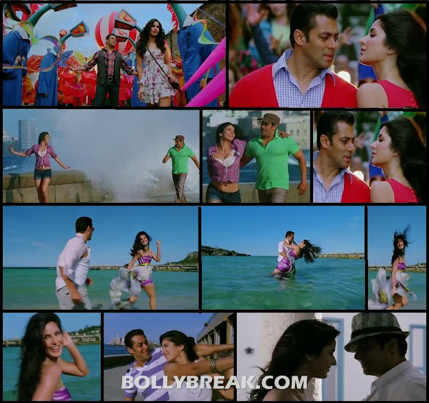 Katrina Kaif Ek Tha Tiger Images with Salman Khan June 2012