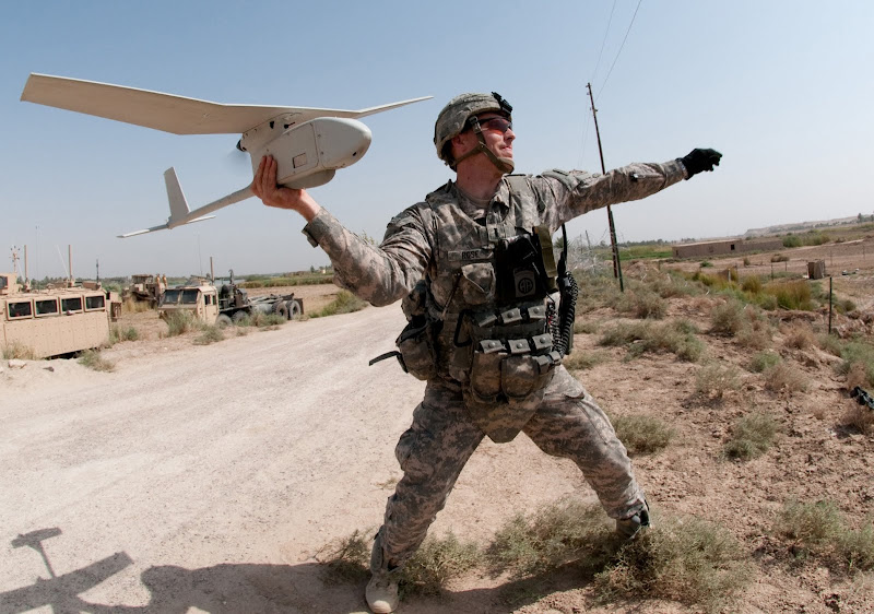 RQ-11 Raven US Army Unmanned Aerial Vehicle