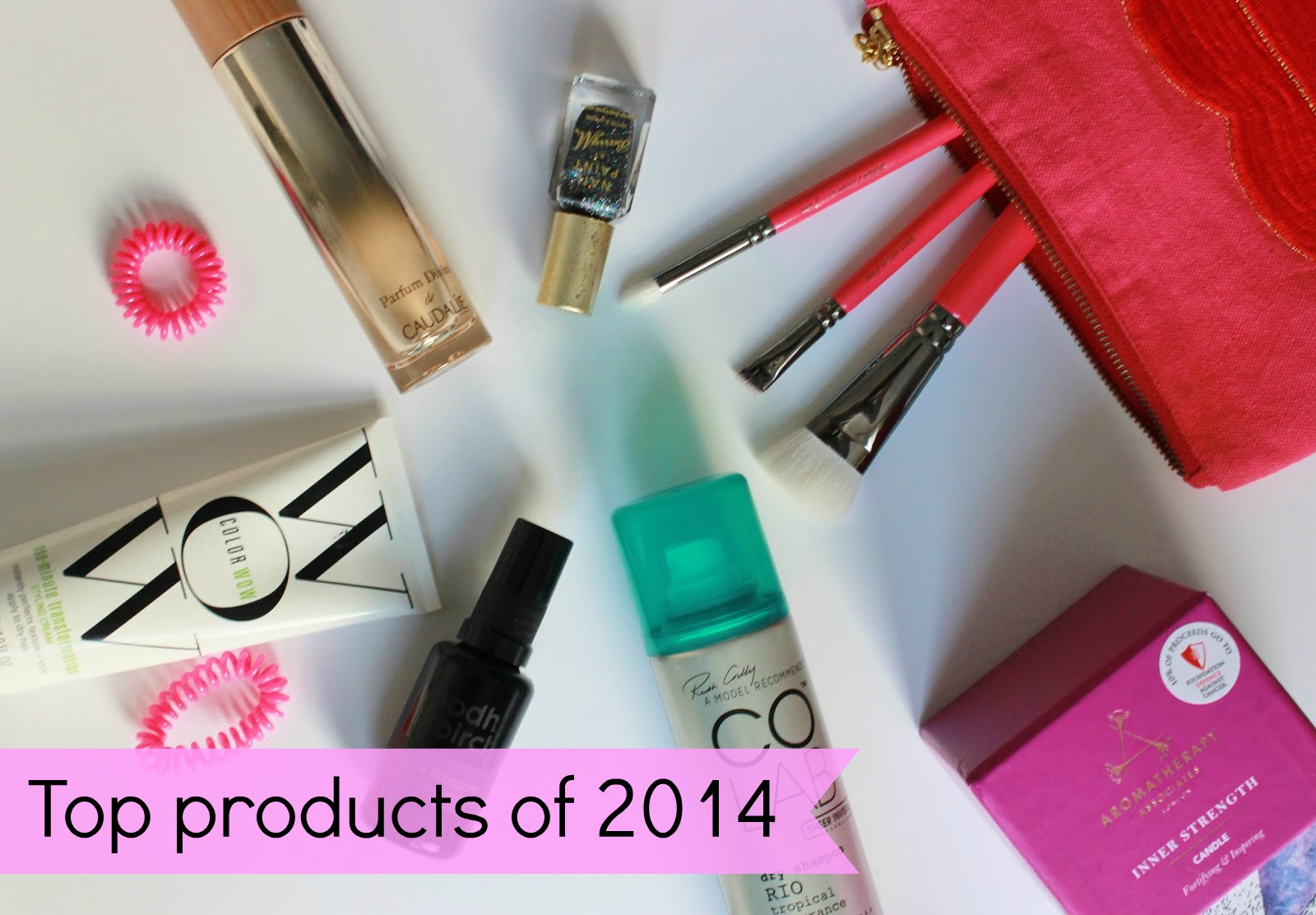 Top products of 2014 - hair, nails and the rest