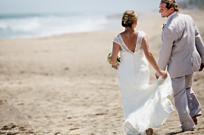 Laid Back Beachside Florida Wedding