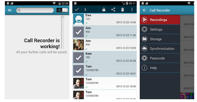 android app to record phone calls