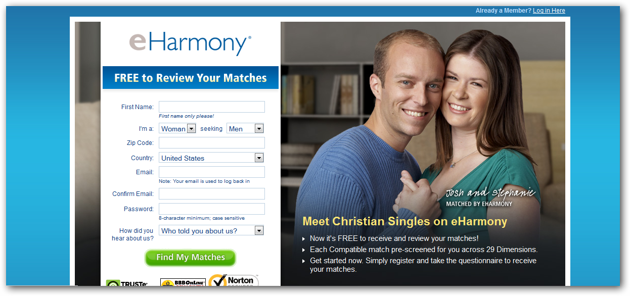 The award-winning Christian dating site