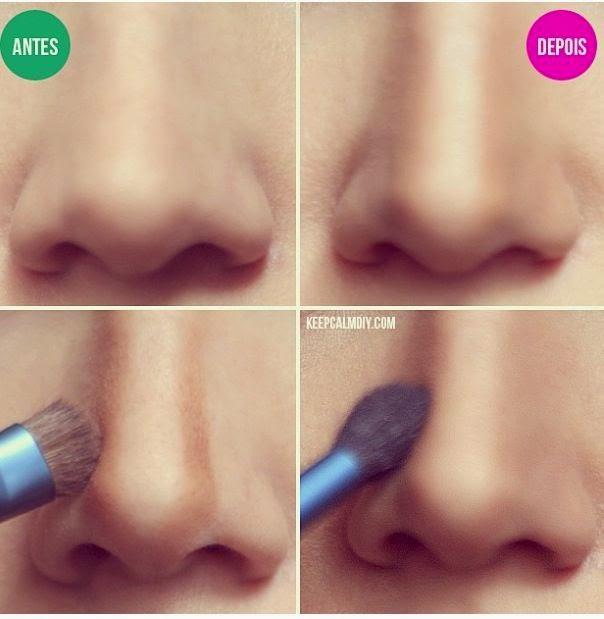 Как сделать нос маленьким макияж