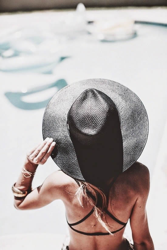 stylish sun hat
