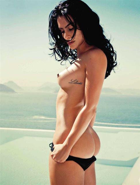 Cl O Pires Atriz Da Globo Nua Na Playboy