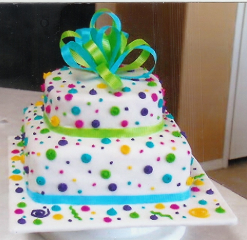 Simple Cake Decoration Images : Birthday Cake Decorating - Cake Decorating