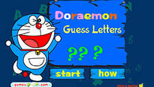 Doraemon Guess Letters - Doraemon.co.in