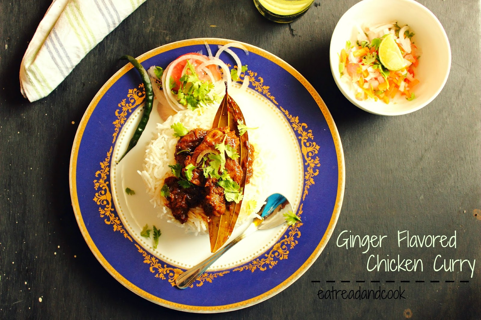 how to cook Ginger Flavored Chicken Curry