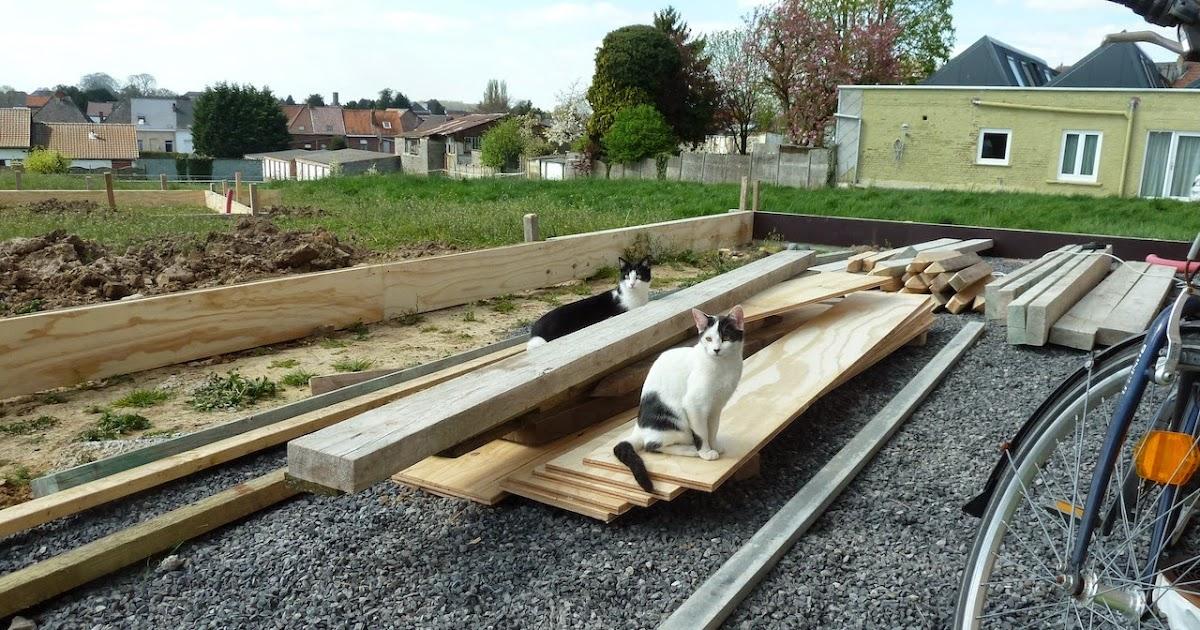 La construction de notre maison pr paration de la - Preparation terrasse beton ...
