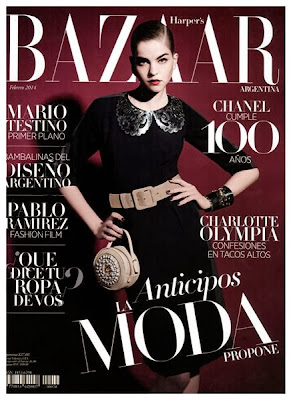 Valeriane le moi photos from harper s bazaar argentina for Bazaar argentina