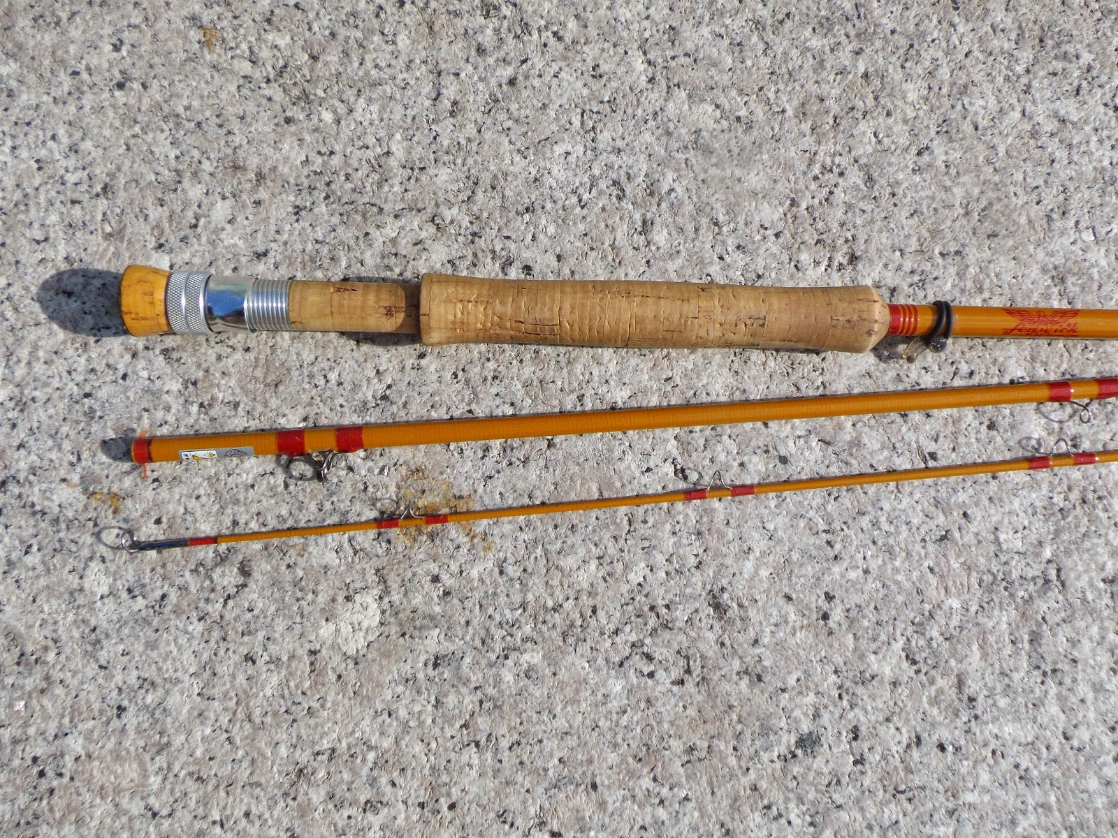 Fiberglass fly rods the great lakes of nyc for Fiberglass fishing rods