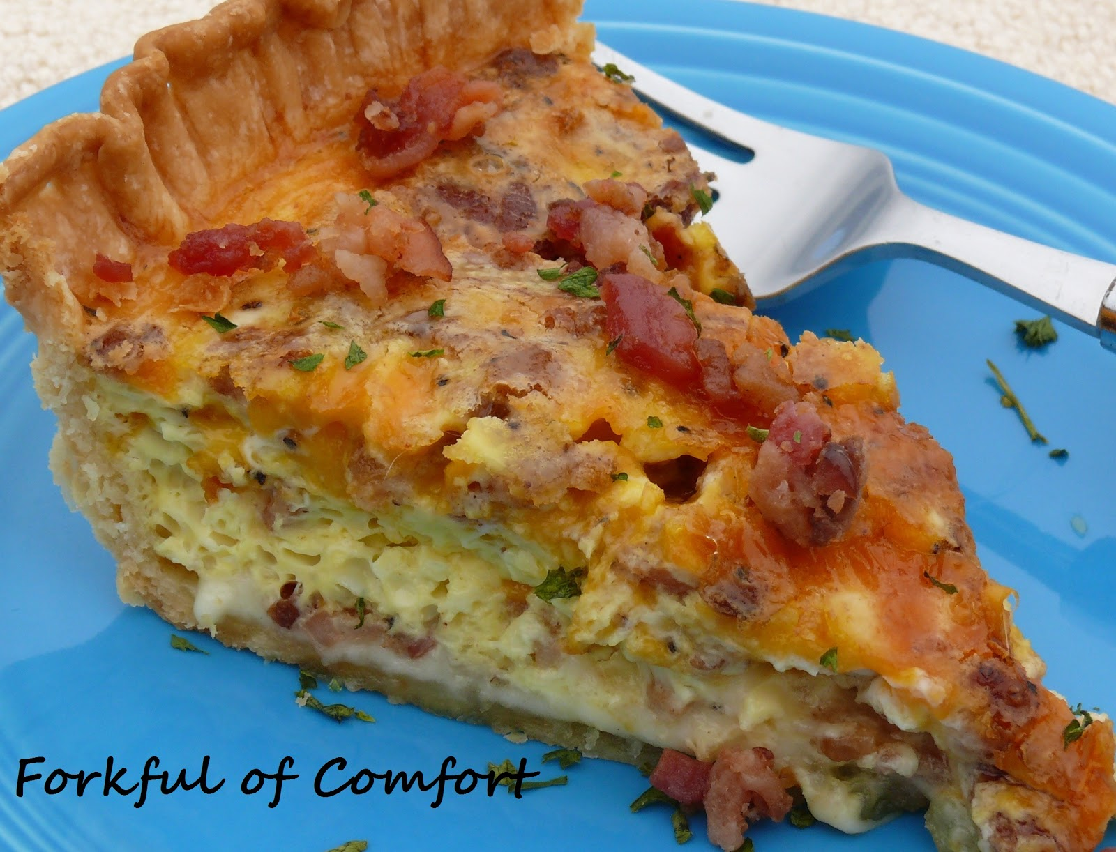 Bacon Quiche Recipe — Dishmaps