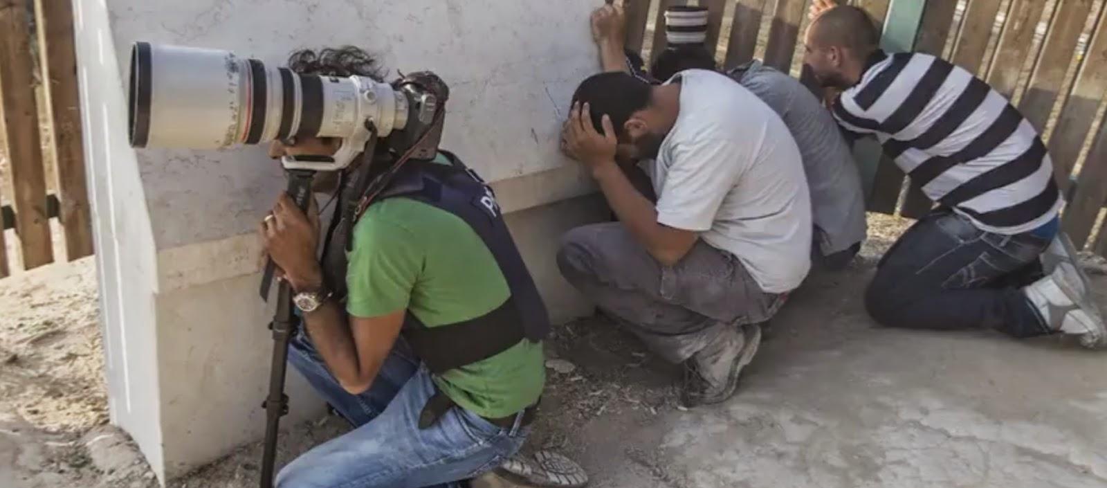 wartawan us mati, wartawan palestin mati, mati kecoh, mati senyap,