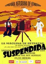 FUNCIÓN SUSPENDIDA en San Martín del Rey Aurelio.16/09