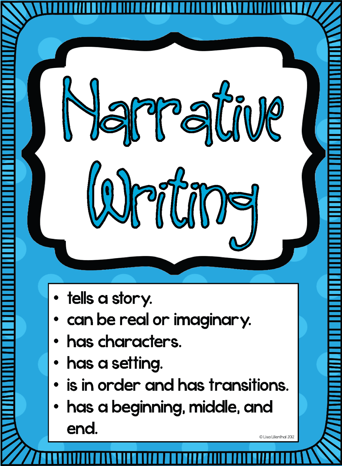 personal narrative essay lesson plan
