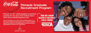 coca cola pinnacle graduate recruitment program