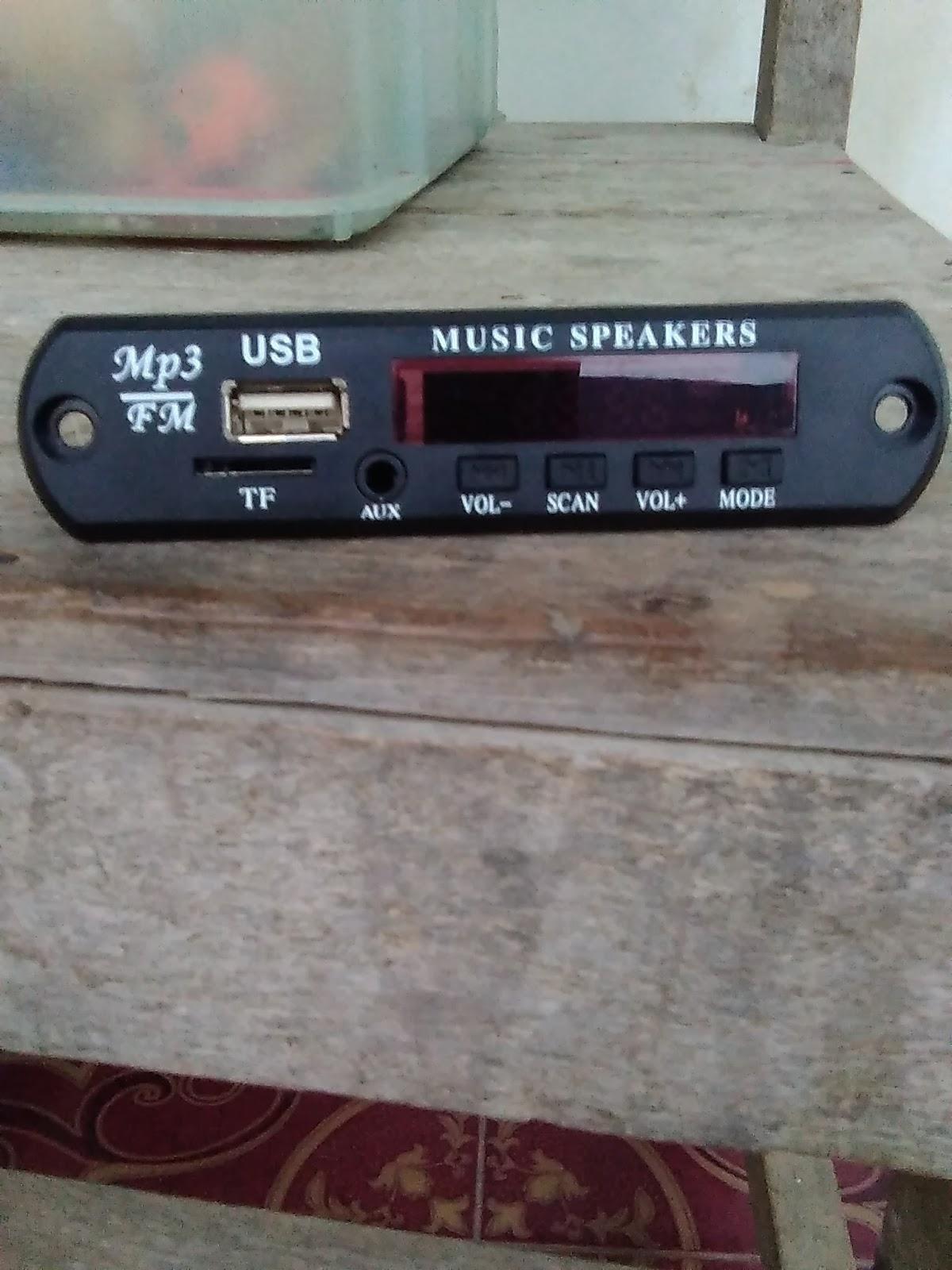 Tentang Berbagi Rangkaian Modul USB Amplifier Head Unit