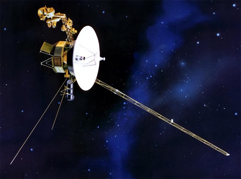Космический аппарат Вояджер-1 удалился от Солнца на расстояние 127 астрономических единиц, или 17,5 световых часов
