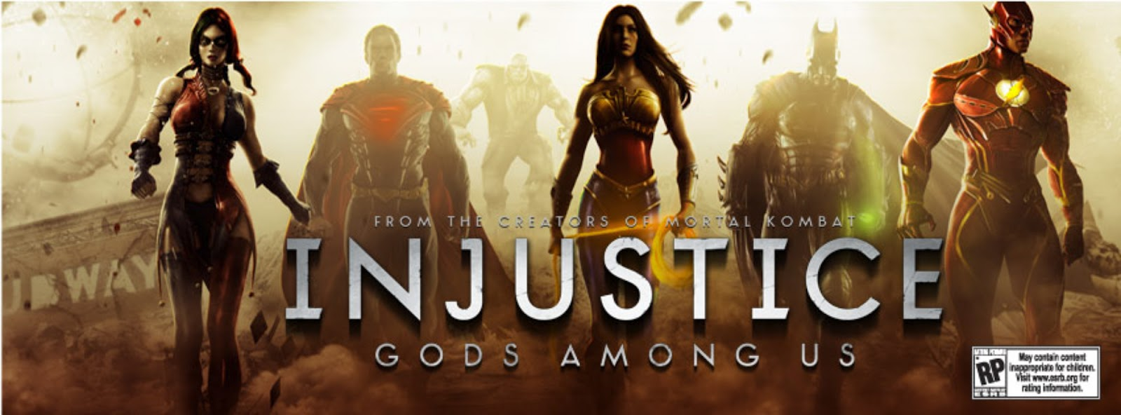 Great Videogame Trailers and Videos  GVT   Injustice  Gods Among