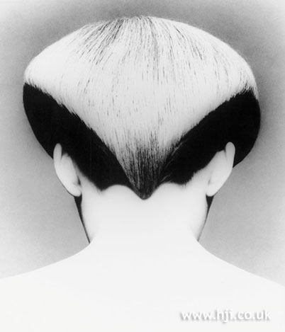 The wedge, cut by Trevor Sorbie under Vidal Sassoon in the '70s
