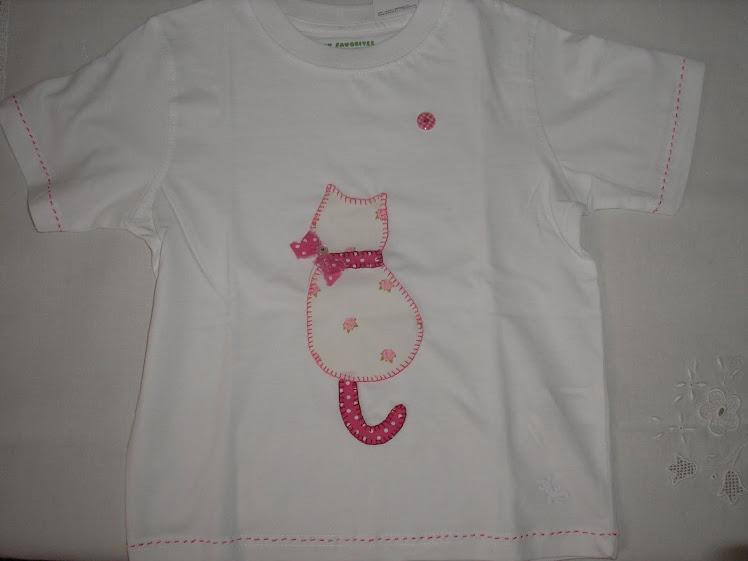 T-shirt arte aplicada