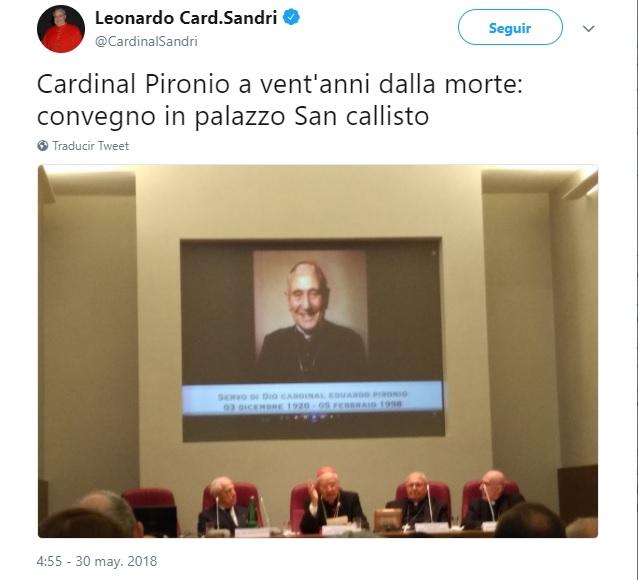 ROMA: JORNADA EN MEMORIA DEL CARDENAL PIRONIO
