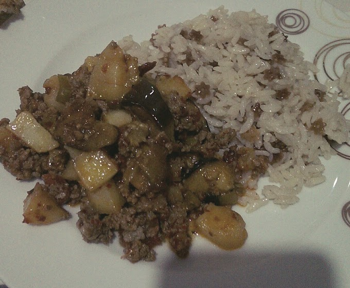 Patatesli Patlican Musakka