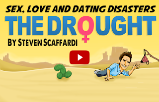 Sex Love and Dating Disasters, Dating Disasters, The Drought, Steven Scaffardi, Lad Lit, Official Book Trailer, Funny Book, Funny Video, Relationship Book, Dating Book, Books for men,