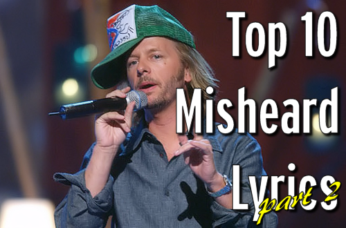 David Spade is a misheard lyric