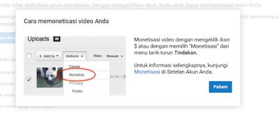 Adsense Youtube Pop Up