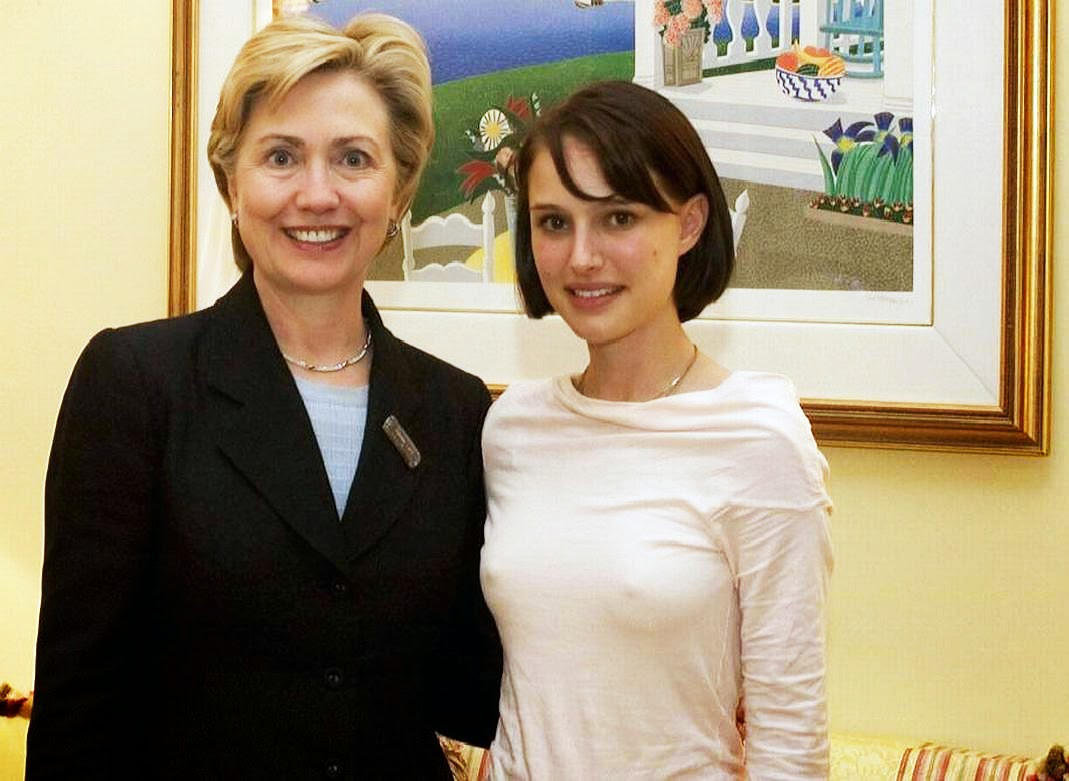 Natalie+Portman+and+Hillary+Clinton+-+ni