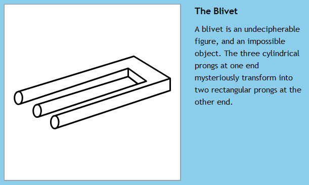 The Three Cylindrical Blivet
