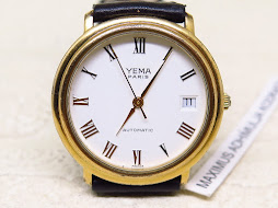 YEMA PARIS WHITE ROMAN DIAL - AUTOMATIC