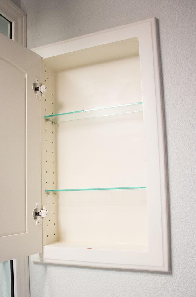 Medicine Cabinet Makeover Design Improvised